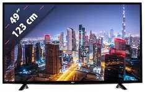 LG 49UH603V TV (49'' UHD, HDR, 1200Hz, Triple Tuner, 3x HDMI 2.0a, LAN + WLAN mit Smart TV, CI+) für 439,90€ (eBay)