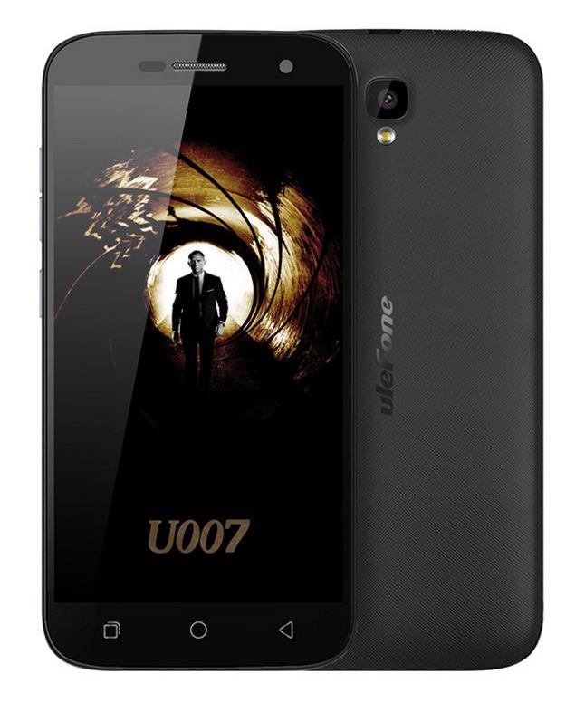 [AMAZON NO PRIME] Ulefone U007 Pro 5.0 Zoll 4G Smartphone Android 6.0 1.0GHz Quad Core Dual SIM 1GB RAM + 8GB ROM 2.0 MP + 8.0 MP Dual Kamera Corning Gorilla 3 HD Screen Air Gesture GPS WiFi Schwarz