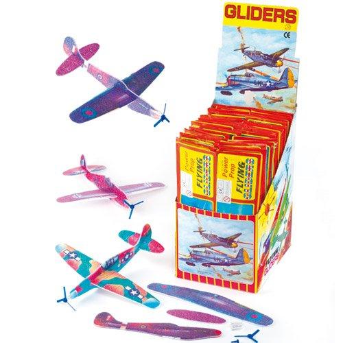 Kindheitserinnerungen - 6 Bastel Gleitflugzeuge für 2,50 inkl. Versandkosten