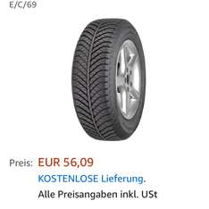 Goodyear Vector4Seasons 225/50r17 AO