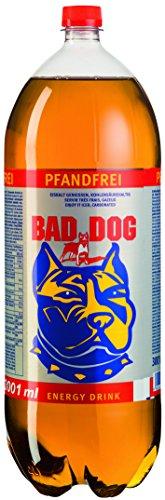 [Amazon] Bad Dog Energy Drink mit 9 Zustazstoffen 54018ml für 27,22 pfandfrei