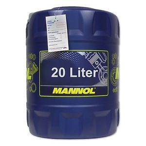 20 (1x20) Liter MANNOL 10W-40 Defender Motoröl, teilsynthetisch @ebay 30,99€