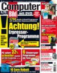 COMPUTER BILD 04/2011 + 10 € Rabatt auf alle Sparpreis-Tickets der Bahn  + 4 weitere Hefte für 9,90 €
