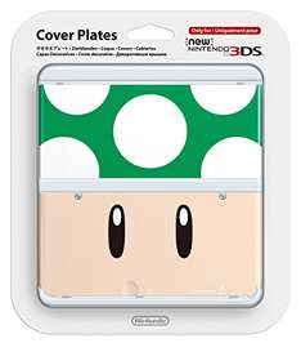 New Nintendo 3DS Zierblende (1-Up-Pilz) für 0,83€ + 1€ Gutschein für Amazon Video (Amazon Prime)