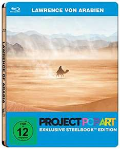Lawrence von Arabien (Project Popart Steelbook Edition) (Blu-ray) für 7,99€ (Amazon Prime + Saturn)