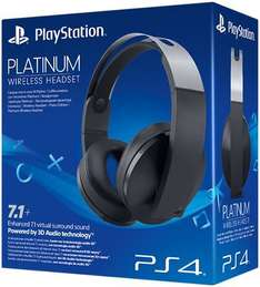 Sony Playstation Platinum Headset für umgerechnet ab 97€ incl. Versand @ Amazon.co.uk (WHD)