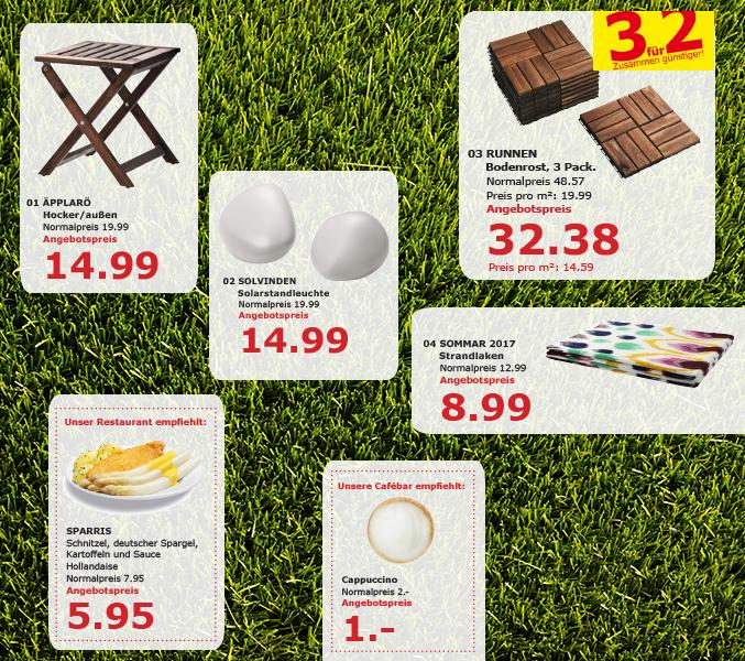 ÄPPLARÖ Hocker - Angebot zum verkaufsoffenen Sonntag bei IKEA Kaiserslautern