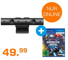 Sony PS4 Kamera + Starblood Arena (PS4) für 49,99€ (Saturn)