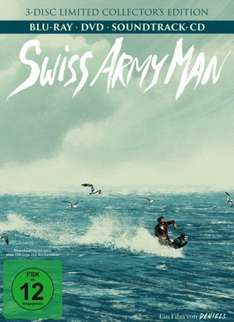 Swiss Army Man Mediabook Limited Collector's Edition (Blu-ray + DVD + CD) für 12,99€ (Saturn & Amazon Prime)