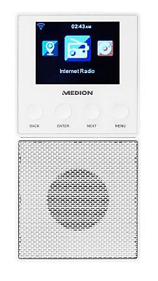 Tiefstpreis??MEDION® Steckdosen Internetradio »E85032 (MD 87248)