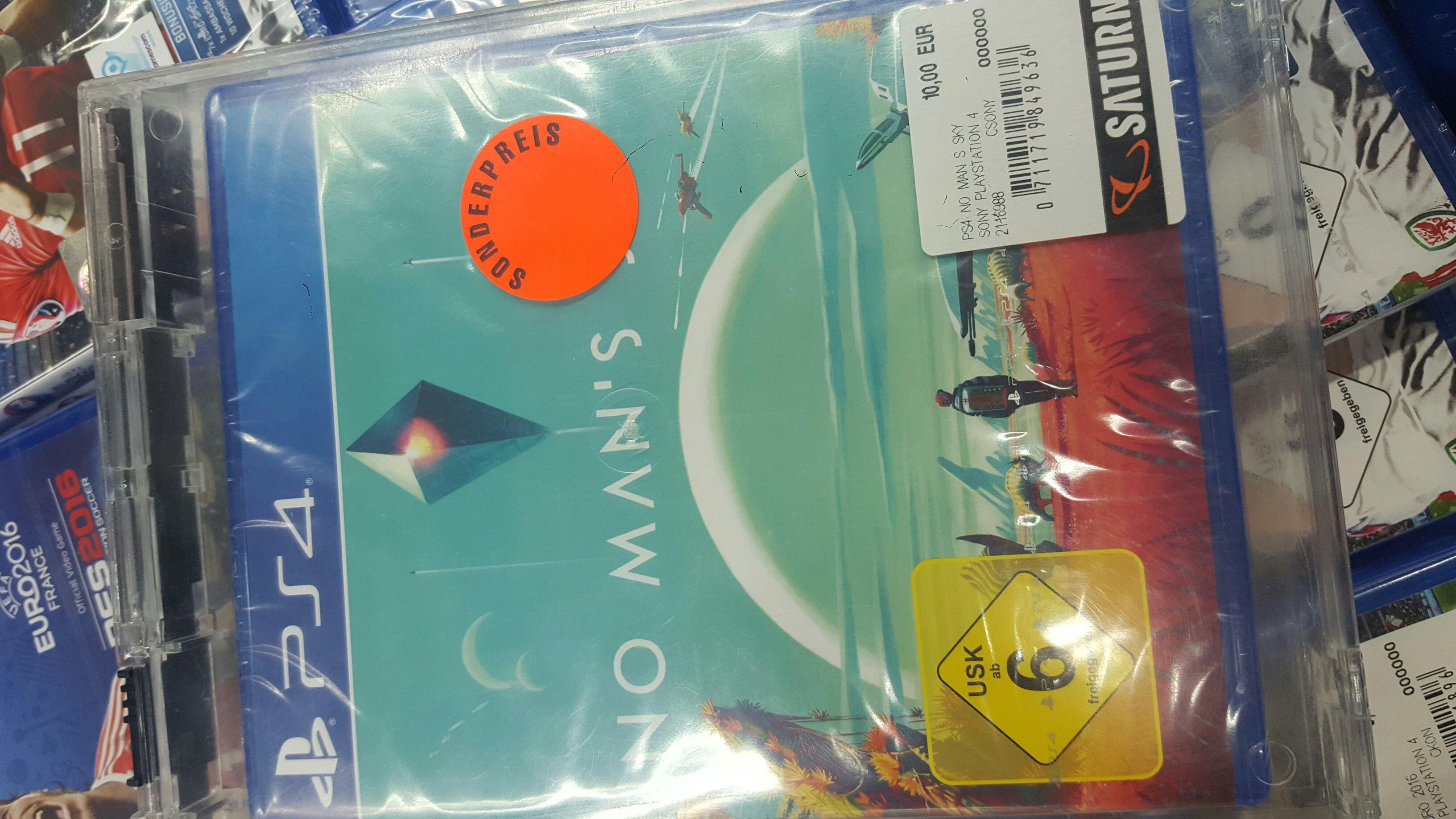 No Man's Sky Playstation4 (Limbeckerplatz Saturn)