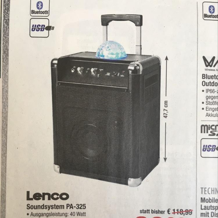 LENCO PA-325  -23% IDEALO: 139,-