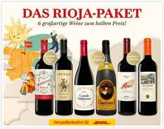 """Das große Rioja Paket - 50% des """"Normalpreises"""""""