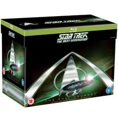 [zavvi] Star Trek: The Next Generation - The Full Journey (BluRay) für 44,65 € / Enterprise - The Full Journey (BluRay) für 36,15 €