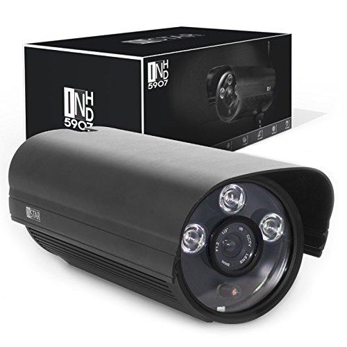 [Amazon] INSTAR IN-5907HD Wlan IP Kamera / IP Überwachungskamera / IP cam mit LAN & Wlan / Wifi für Outdoor (3 HighPower IR LEDs, Infrarot Nachtsicht, wetterfest für außen, SD Karte, Bewegungserkennung, Aufnahme, WDR) schwarz
