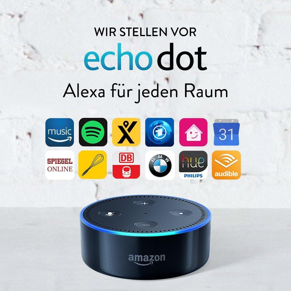 UPDATE: jetzt 39,99€ statt 59,99€ bei [Telekom] war:5€ Rabatt auf Echo Dot [Amazon]