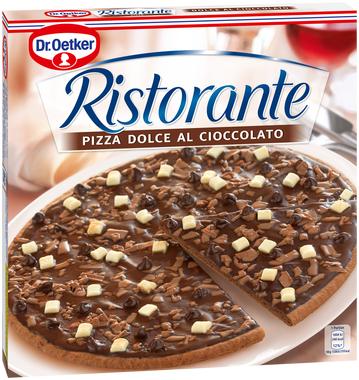 [Rewe ab heute] Ristorante Pizza für 1,88€ (dieses Mal sogar mit der Schokoladenpizza)