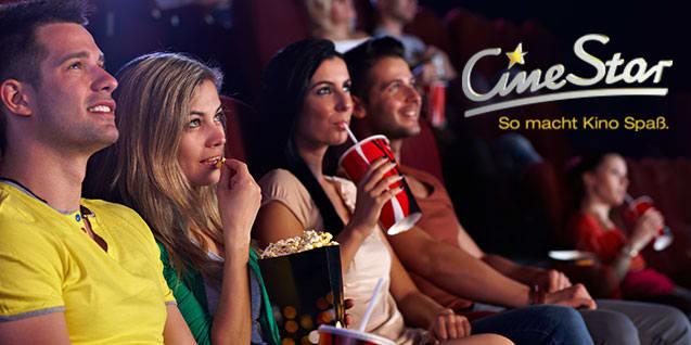 5 CineStar 2D Kinogutscheine bei Dailydeal