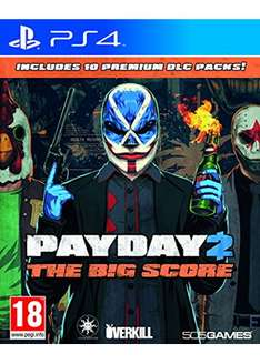 Payday 2 The Big Score (PS4) für 20,18€ (Base.com)