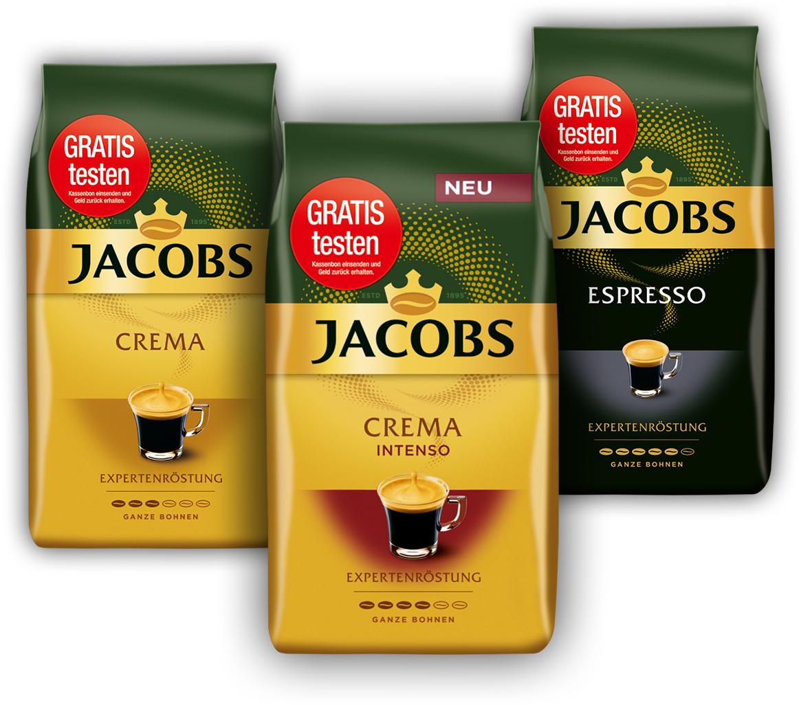 Gratis testen: JACOBS Expertenröstung
