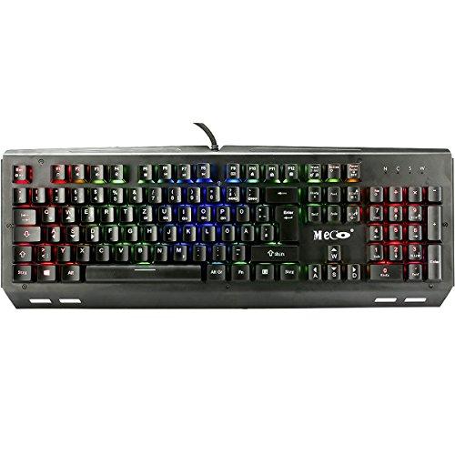 mechanisch tastatur meco k644 gaming tastatur 24 rabatt. Black Bedroom Furniture Sets. Home Design Ideas