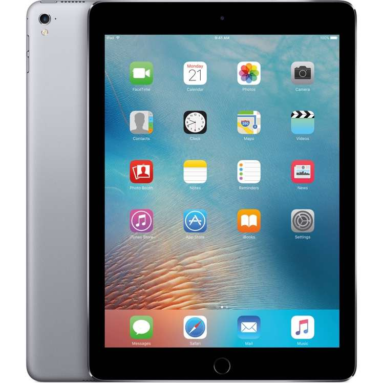 apple ipad pro 9 7 32gb wlan cellular lte space gray mlpw2fd a spacegrau neu. Black Bedroom Furniture Sets. Home Design Ideas