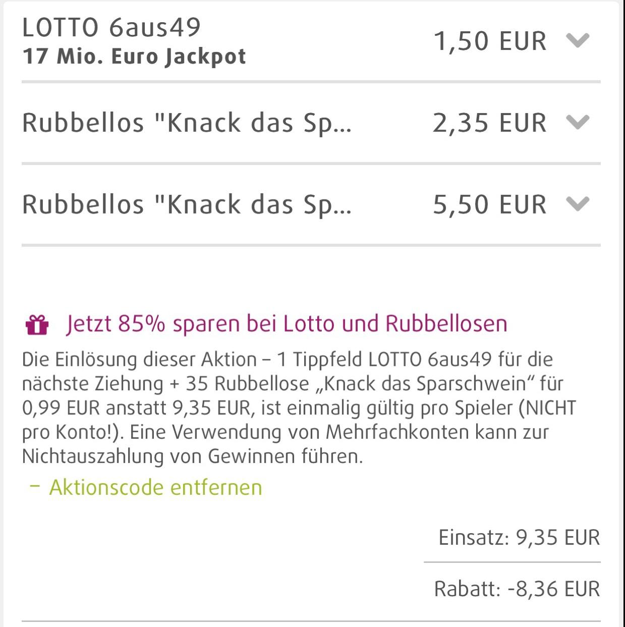 rabattcode lottoland