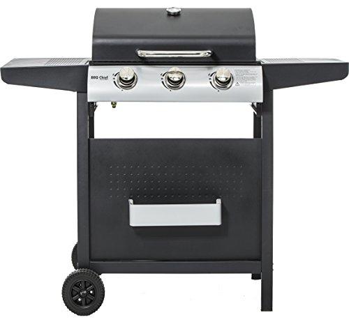 edit gasgrill maxxus bbq chief neues modell 3 edelstahl brenner mit 9kw. Black Bedroom Furniture Sets. Home Design Ideas