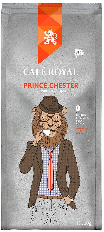 cafe royal prince chester kaffeebohnen 500g. Black Bedroom Furniture Sets. Home Design Ideas