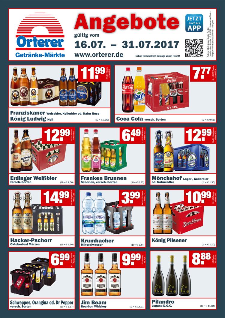 Orterer Getränke Markt (Offline) Jim Beam Bourbon Whiskey 0,7l Vol ...