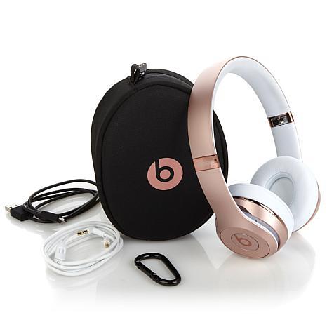apple beats solo 3 wireless on ear kopfh rer rosegold. Black Bedroom Furniture Sets. Home Design Ideas