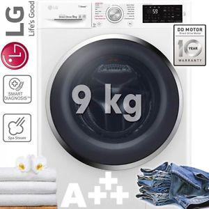 lg waschmaschine f14wm9kg energieeffizienzklasse a 9 kg inverter direct drive. Black Bedroom Furniture Sets. Home Design Ideas