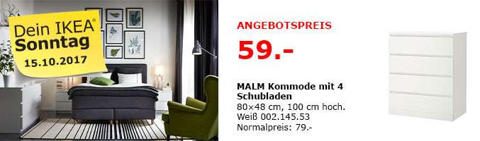 ikea ludwigsburg am malm kommode mit 4 schubladen wei. Black Bedroom Furniture Sets. Home Design Ideas
