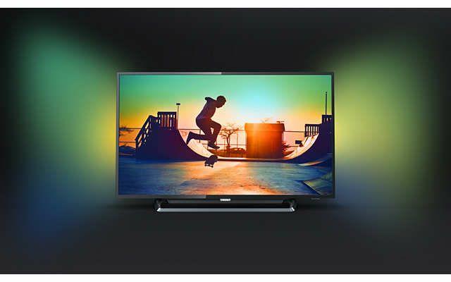 saturn ebay philips pus6262 4k smart tv uhd led fernseher mit ambilight hdr plus 50 zoll. Black Bedroom Furniture Sets. Home Design Ideas