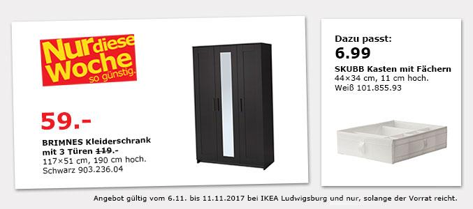 lokal ikea ludwigsburg brimnes kleiderschrank sl kt faltbare matratze. Black Bedroom Furniture Sets. Home Design Ideas