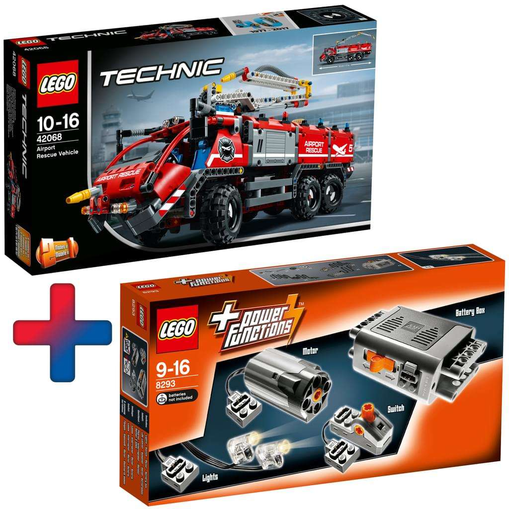 real family friends lego technic flughafen. Black Bedroom Furniture Sets. Home Design Ideas