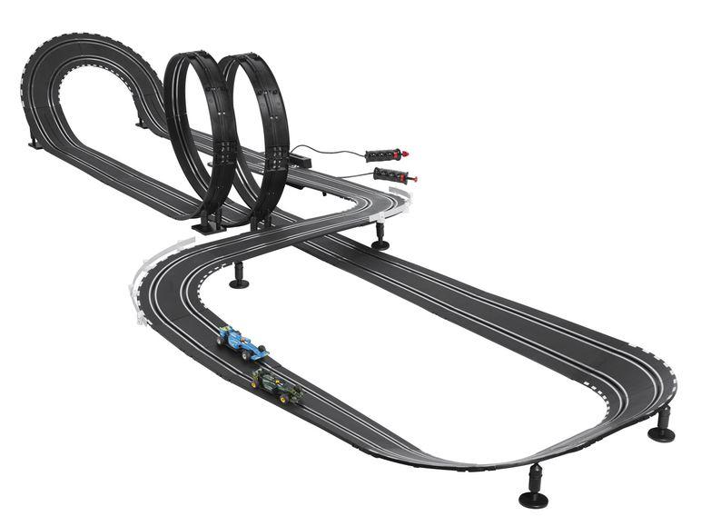 carrera autorennbahn speed racers bei lidl online f r 39. Black Bedroom Furniture Sets. Home Design Ideas