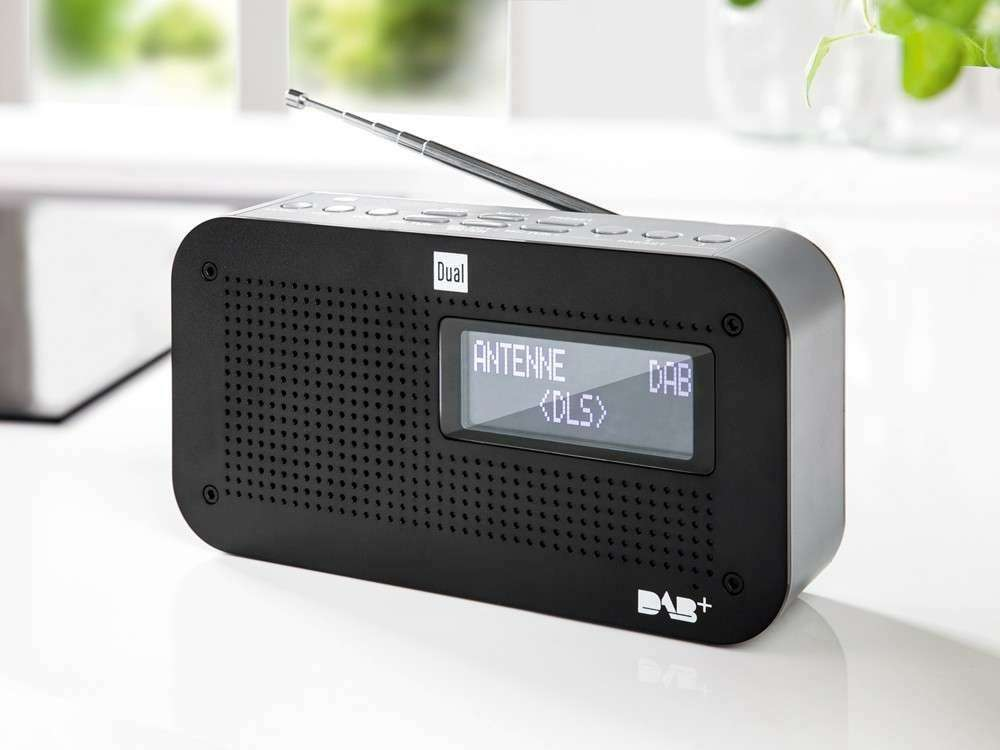 dual portables dab ukw radio dab71 f r 29 99 norma. Black Bedroom Furniture Sets. Home Design Ideas