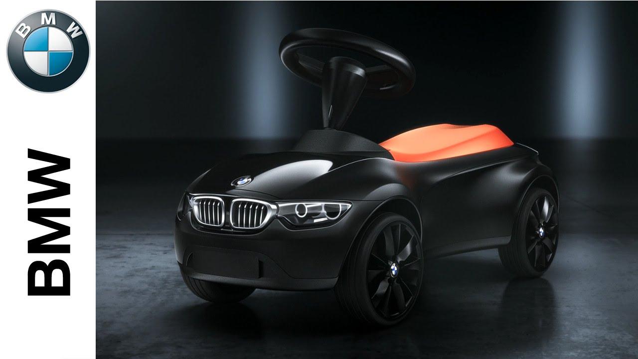 original bmw baby racer iii bobbycar rutschauto in schwarz orange. Black Bedroom Furniture Sets. Home Design Ideas