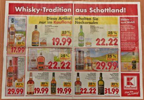 scotch whisky angebote kaufland neckarsulm. Black Bedroom Furniture Sets. Home Design Ideas