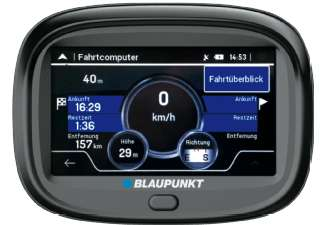 blaupunkt motopilot 43 eu lmu motorrad navi gesamteuropa. Black Bedroom Furniture Sets. Home Design Ideas