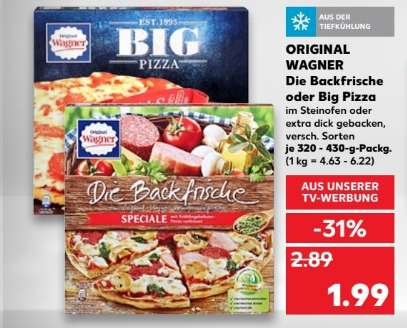 2x original wagner big pizza oder die backfrische f r 2 98 1 49 pro st ck durch coupon bei. Black Bedroom Furniture Sets. Home Design Ideas