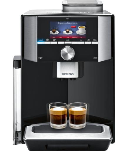 lokal m nchen siemens kaffeevollautomat eq 9 s500 ti915539de f r uns shop. Black Bedroom Furniture Sets. Home Design Ideas