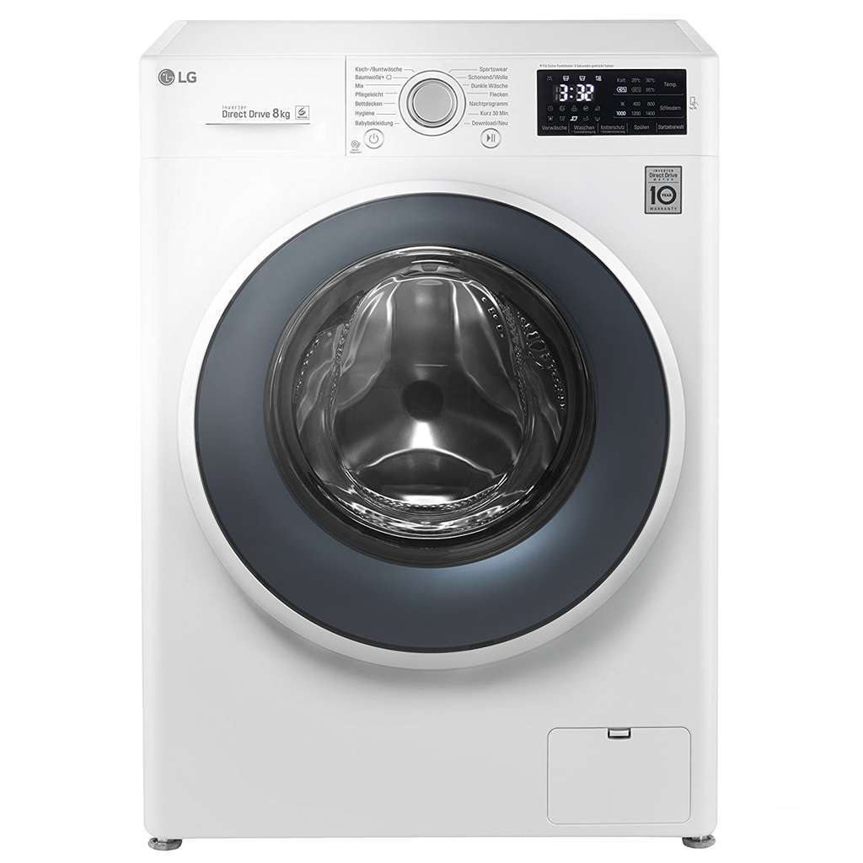 lg f14wm8cn1 waschmaschine 8 kg 1400 u min a. Black Bedroom Furniture Sets. Home Design Ideas