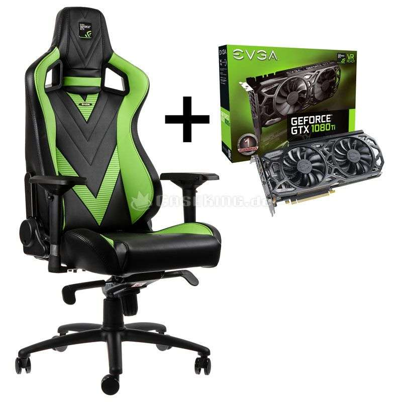 noblechairs epic in der gtx edition evga 1080ti sc. Black Bedroom Furniture Sets. Home Design Ideas