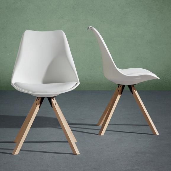 2 Stühle Ricky In Weiß Oder Grau Für 29,80u20ac Versandkostenfrei
