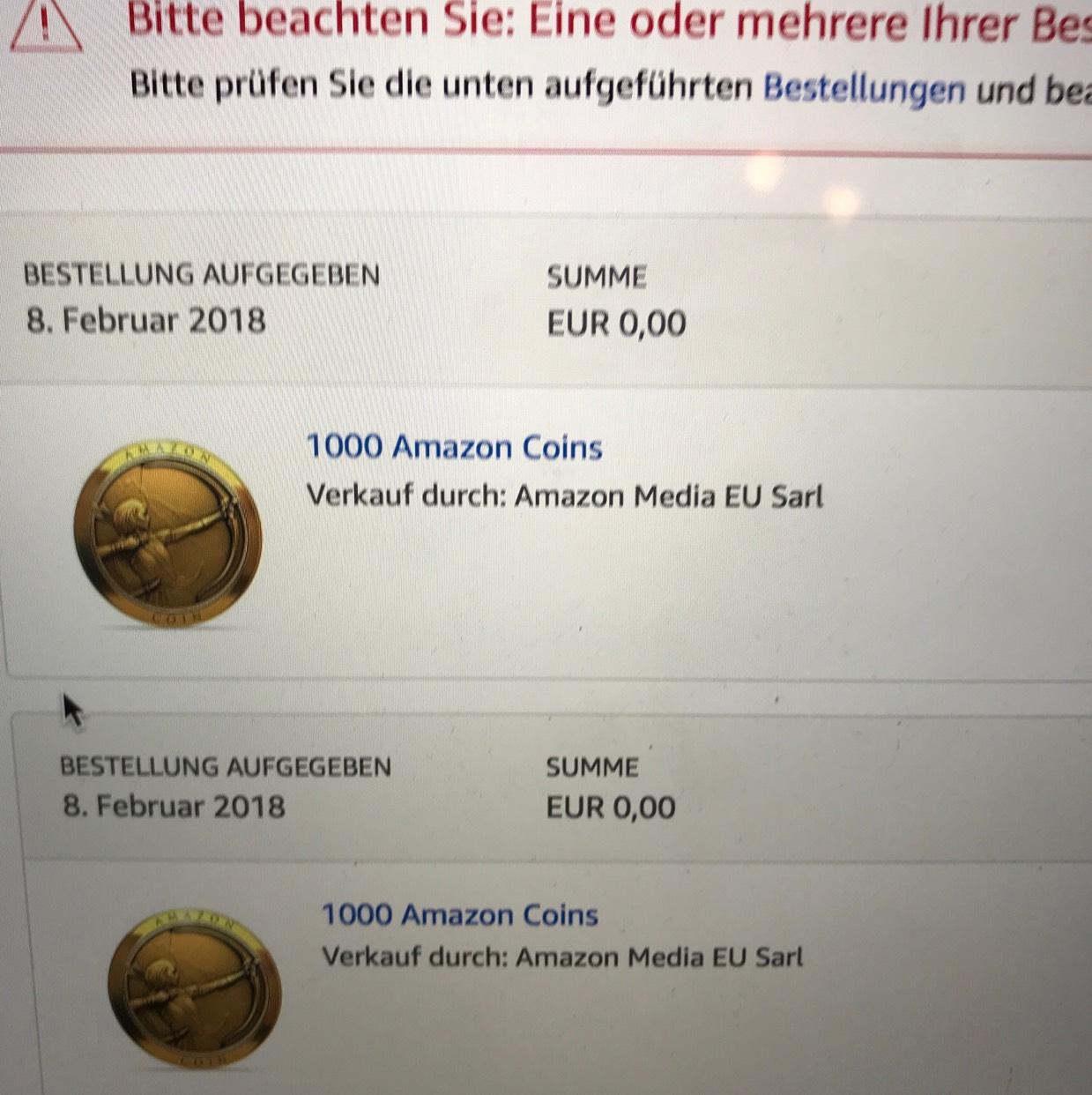 amazon coins gutschein