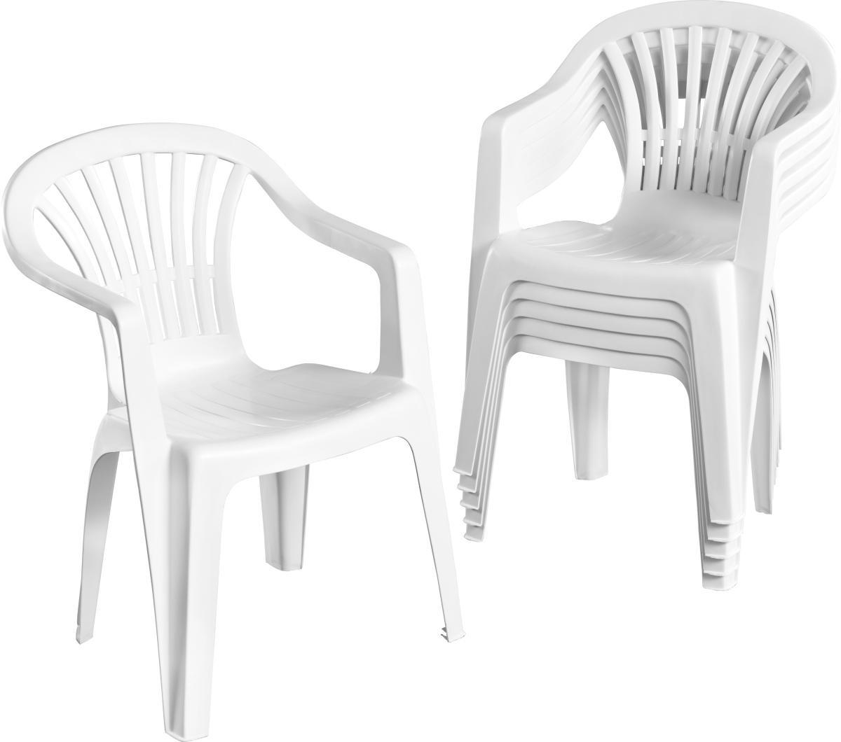 gartenstapelstuhl altea in wei f r 2 99 in allen poco dom ne gesch ften offline only. Black Bedroom Furniture Sets. Home Design Ideas