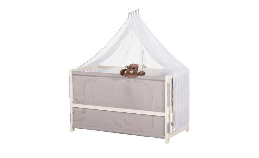 Hoeffner][abholung] roba room bed babybett anstellbettchen adam