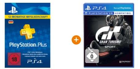 1 jahr playstation plus gran turismo sport day 1 edition. Black Bedroom Furniture Sets. Home Design Ideas